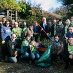 Jewish and Hindu group renovated the gardens of the Royal National Orthopaedic Hospital in Stanmore, assisted by Bob Blackman MP