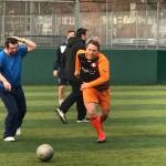 Kisharon vs Langdon football match at Maccabi GB 1