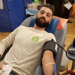 Muslims from the new Golders Green Islamic Centre joined with Jews to give blood at Golders Green Synagogue - showing unity after recent controversies