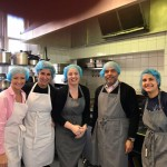 Office staff from JP Morgan cooked at the West London Mission