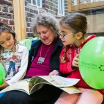 Reading event at Alyth Reform Synagogue in Golders Green - picture by Yakir Zur