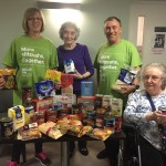 Tenants at Jewish Blind & Disabled's three North East London buildings donated food that will be given to GIFT to help those in need