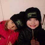 Wroclaw - Jan and Oliwia Listwan from the Cukunft Jewish Association take part in Mitzvah Day in Poland