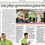 Mitzvah Day launch event in The Jewish Chronicle