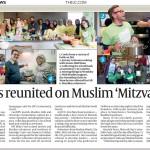 Sadaqa Day 2017 in The Jewish Chronicle