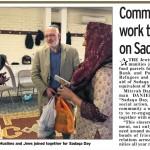 Sadaqa Day 2017 in The Jewish Telegraph
