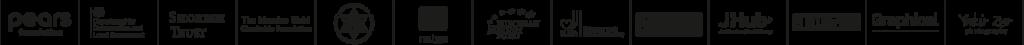 Mitzvah Day_Supporters Logo strip_Black