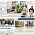 November 2015 - Mitzvah Day on Songs of Praise in The Jewish Chronicle