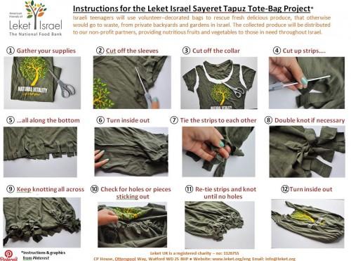 Leket instructions