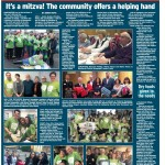Mitzvah Day coverage in The Jewish Telegraph