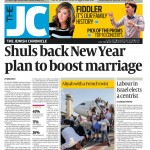 New project from interfaith chair Daniela Pears on front page of The Jewish Chronicle