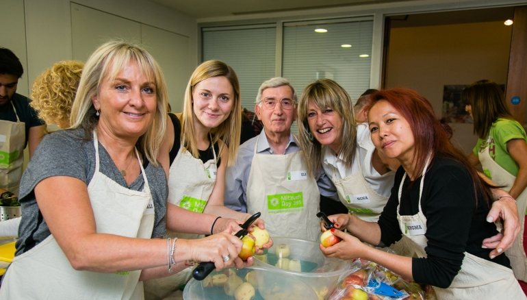 Mitzvah Day runs first profile raising events