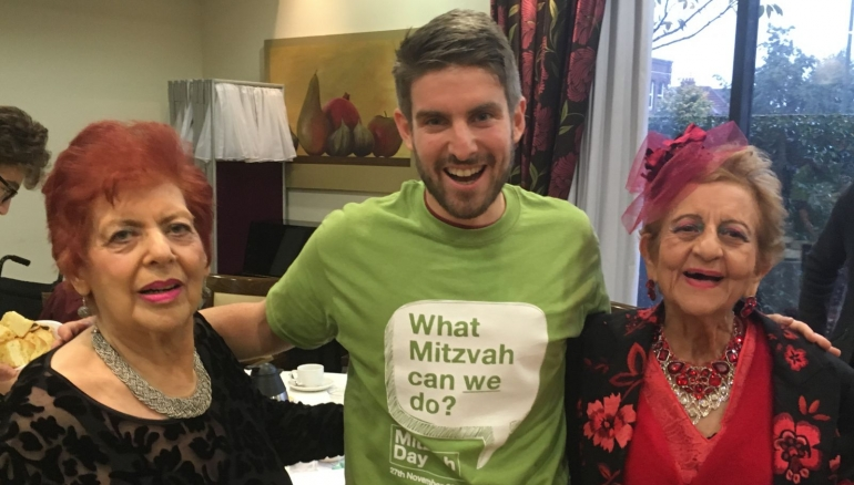 More than 90 people attend Mitzvah Day tea