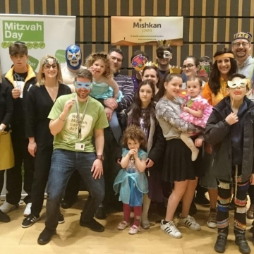Mitzvah Day 365 project brings Purim cheer