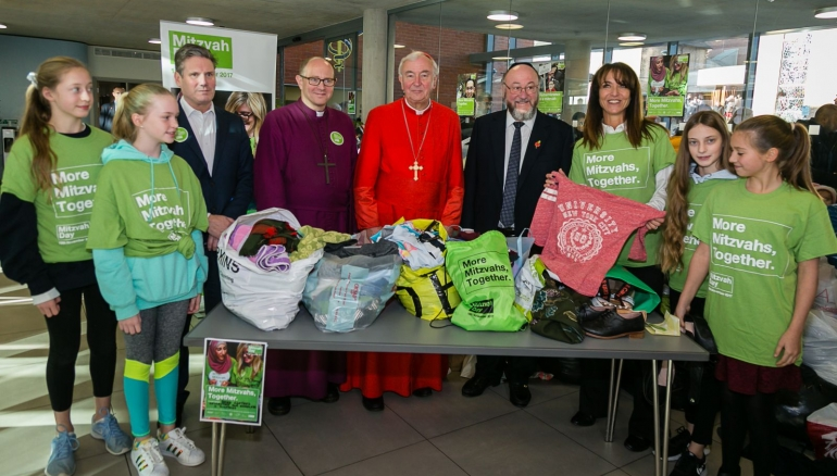 Everything that happened on Mitzvah Day 2017