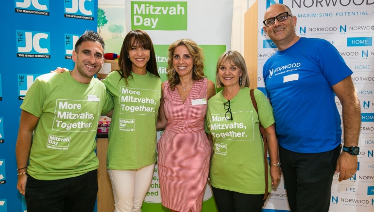 Mitzvah Day events in London and Manchester