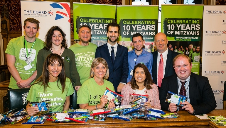 Mitzvah Day 2018 is launched in Parliament