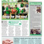 Mitzvah Day #ChickenSoupChallenge in Hackney Today