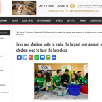 Mitzvah Day #ChickenSoupChallenge in the Bangla Mirror