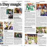 Spread of stories in The Jewish Weekly