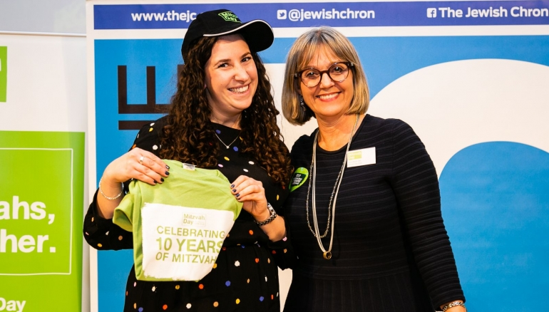 Meet our new Mitzvah Day chief executive