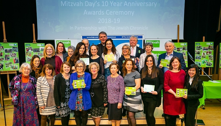 Mitzvah Day 2018 Awards – Winners announced