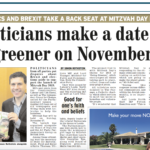 Mitzvah Day at Parliament in the Jewish Telegraph