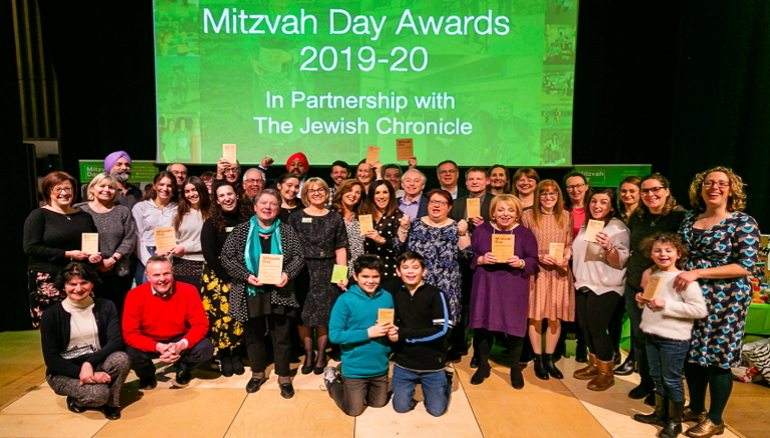 Mitzvah Day Awards 2019, in partnership with the Jewish Chronicle